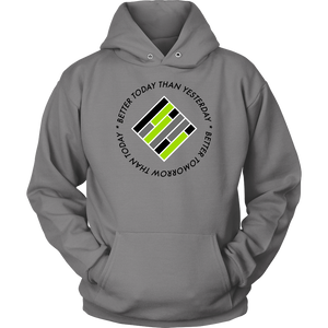 Teach Better Mindset Unisex Hoodie (Multiple Colors Available)