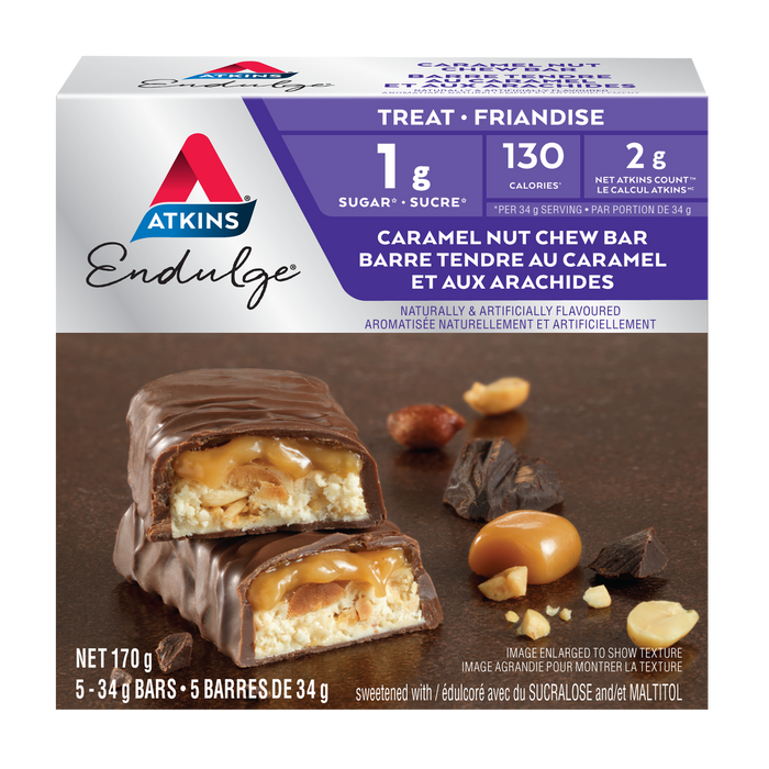 Atkins Endulge Caramel Nut Chew Treat