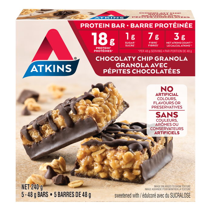 Atkins Chocolaty Chip Granola Protein Bar