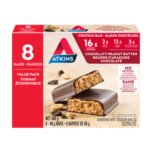 Atkins Chocolaty Peanut Butter Protein Bar VALUE PACK