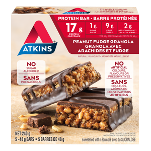 Atkins Peanut Fudge Granola Protein Bar