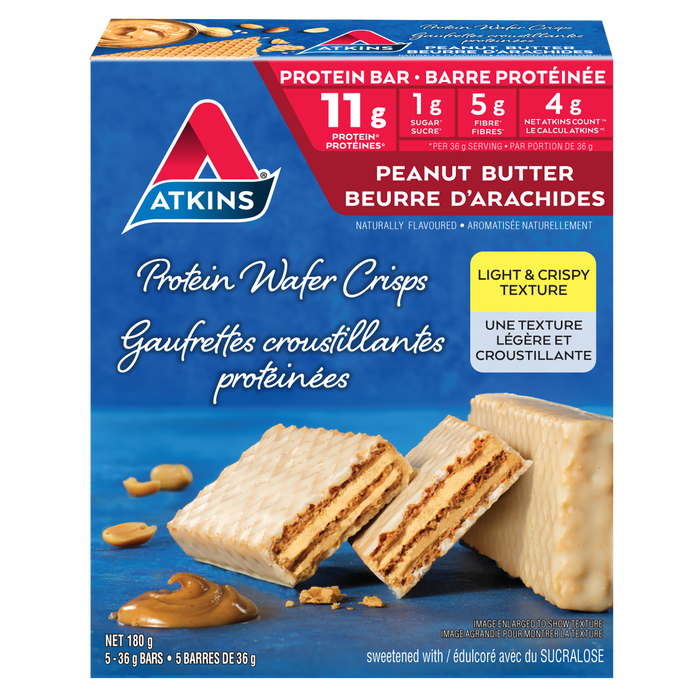 Atkins Peanut Butter Protein Wafer Crisps