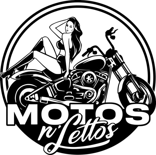 Motos N' Lettos Stickers (Pack of 5)