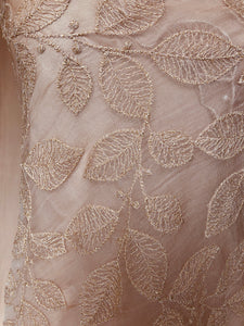 Embroidered Silk Organza - Glasgow Fabric Store