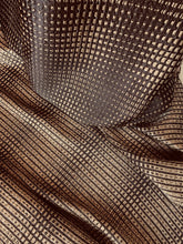 Load image into Gallery viewer, Metallic Silk Jacquard - Glasgow Fabric Store