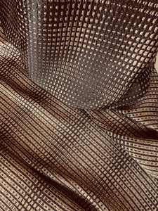 Metallic Silk Jacquard - Glasgow Fabric Store