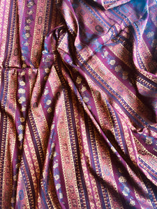 Exotic Striped Jacquard - Glasgow Fabric Store