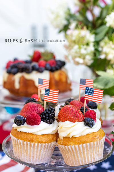 4th of July Red White and Blue Desserts_photo Riles & Bash