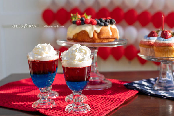 4th of July Red White and Blue Dessert_photo Riles & Bash