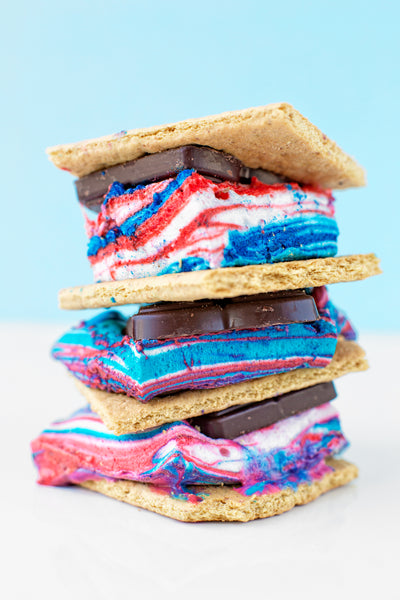 Tie Dye Fourth of July S'mores_photo Studio DIY