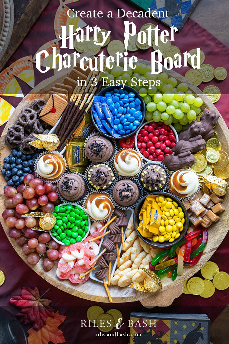 Create a Decadent Harry Potter Charcuterie Board in 3 Easy Steps