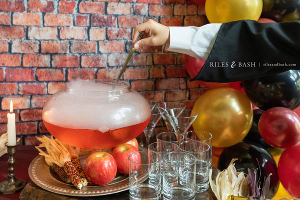 Riles & Bash_Harry Potter Halloween_spooky potions and drinks