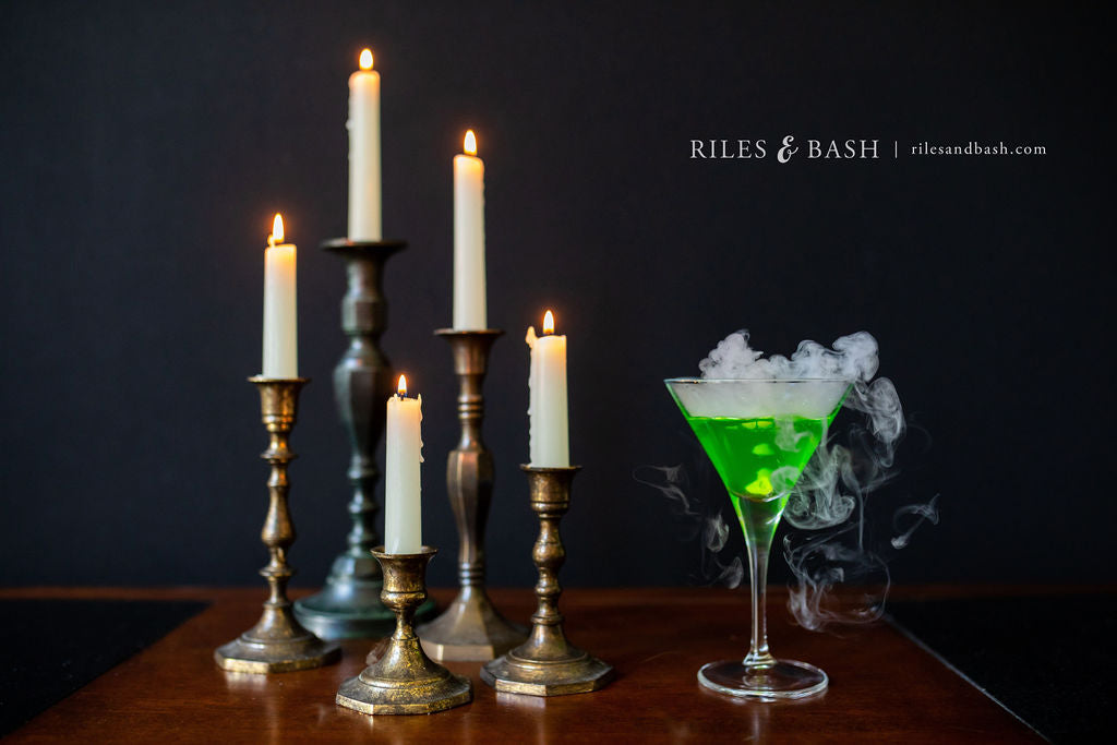 Riles & Bash_How to Make Spooky Cocktails using Dry Ice