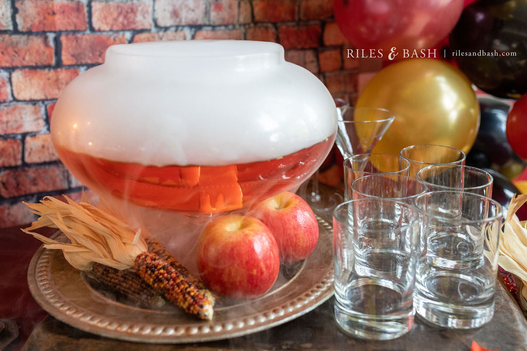 Riles & Bash_How to Make Spooky Cocktails with Dry Ice