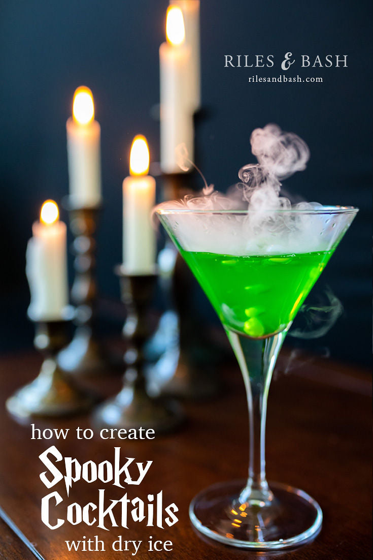 How to Create Spooky Cocktails with Dry Ice