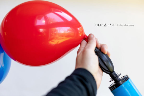 Riles & Bash_online party supplies_red white and blue balloons_link balloons_4th of July balloons