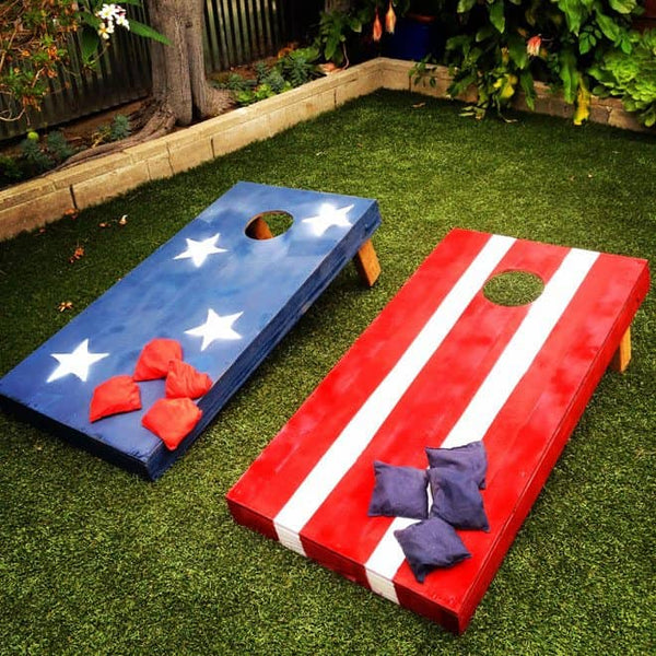 4th of July Games Bean Bag Toss_photo Charles and Hudson