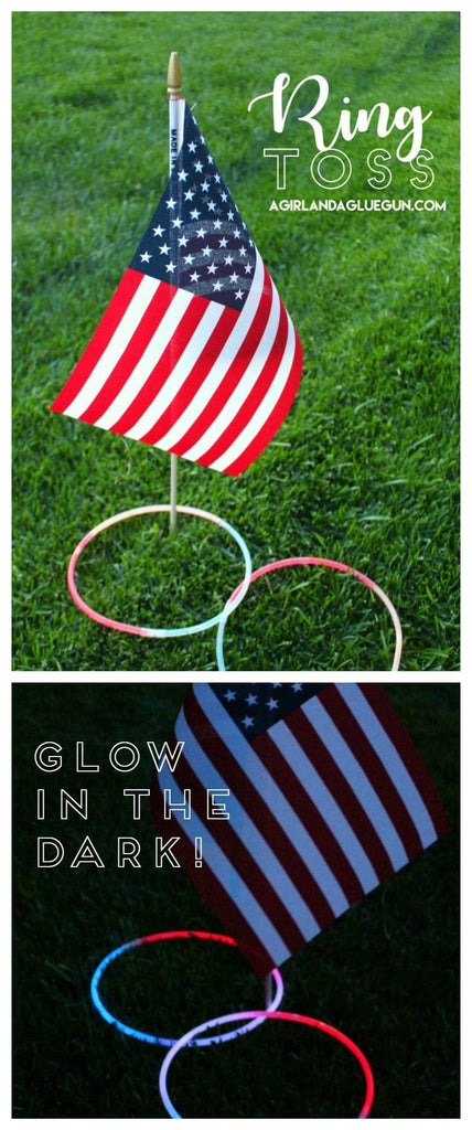 4th of July Games Glow in the Dark Ring Toss_photo Girl with a Glue Gun
