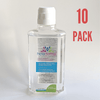 10 PACK - Hexadermal Liquid Hand Sanitizer - 250 ml - Flip Cap - Mask IT