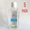 5 PACK - Hexadermal Liquid Hand Sanitizer - 250 ml - Flip Cap - Mask IT