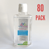 80 PACK - Hexadermal Liquid Hand Sanitizer - 250 ml - Flip Cap - Mask IT