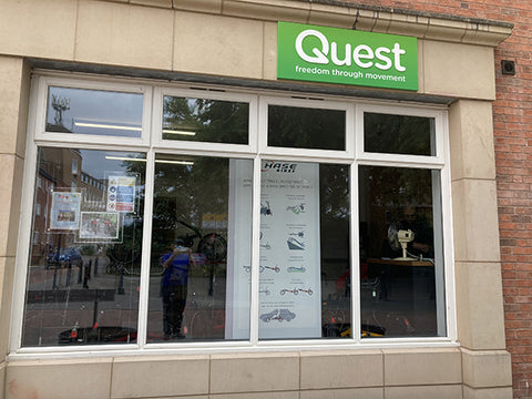 Quest hub window