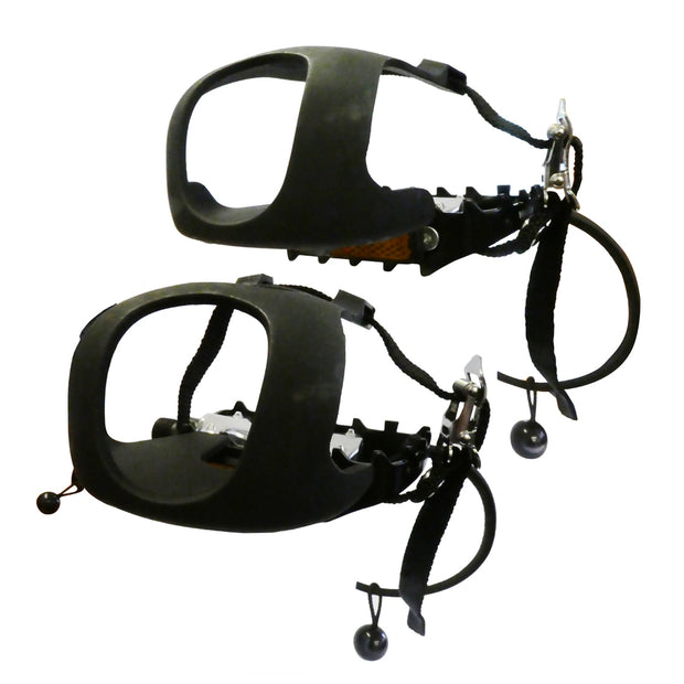 Children's Pedal with Toe Clip & Strap