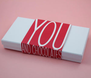 BOMBONES YOU AND CHOCOLATES