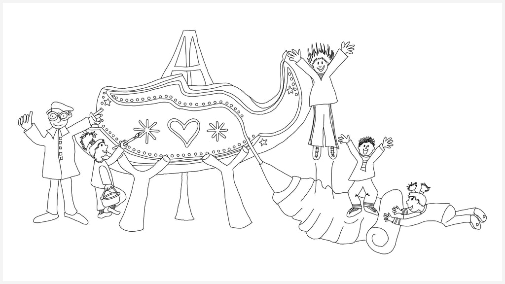 Jammie Claus Coloring Pages