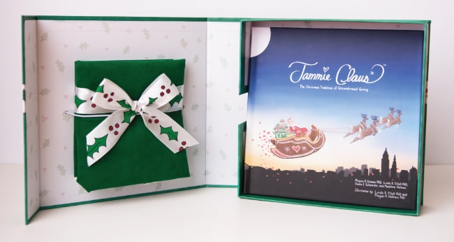 Jammie Claus Book and Bag Set