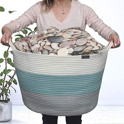 Cotton Rope Basket | Rain Meadow