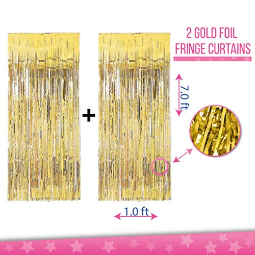 Birthday Decorations For Girls, Women | Pink & Gold