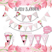 1st Birthday Girl Decorations | Floral Theme | Rain Meadow