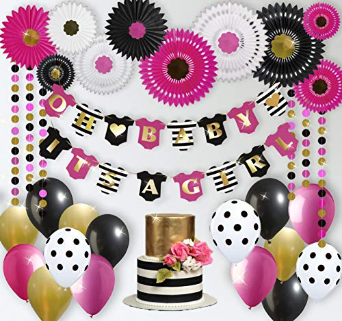 Girl Baby Shower Decorations | Kate Spade Inspired | Minnie Mouse Theme | Rain Meadow