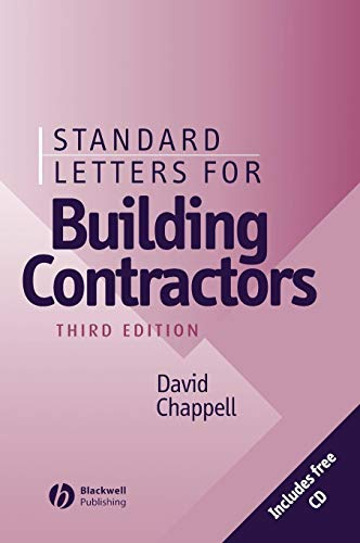 Standard Letters for Building Contractors (3rd Edition)