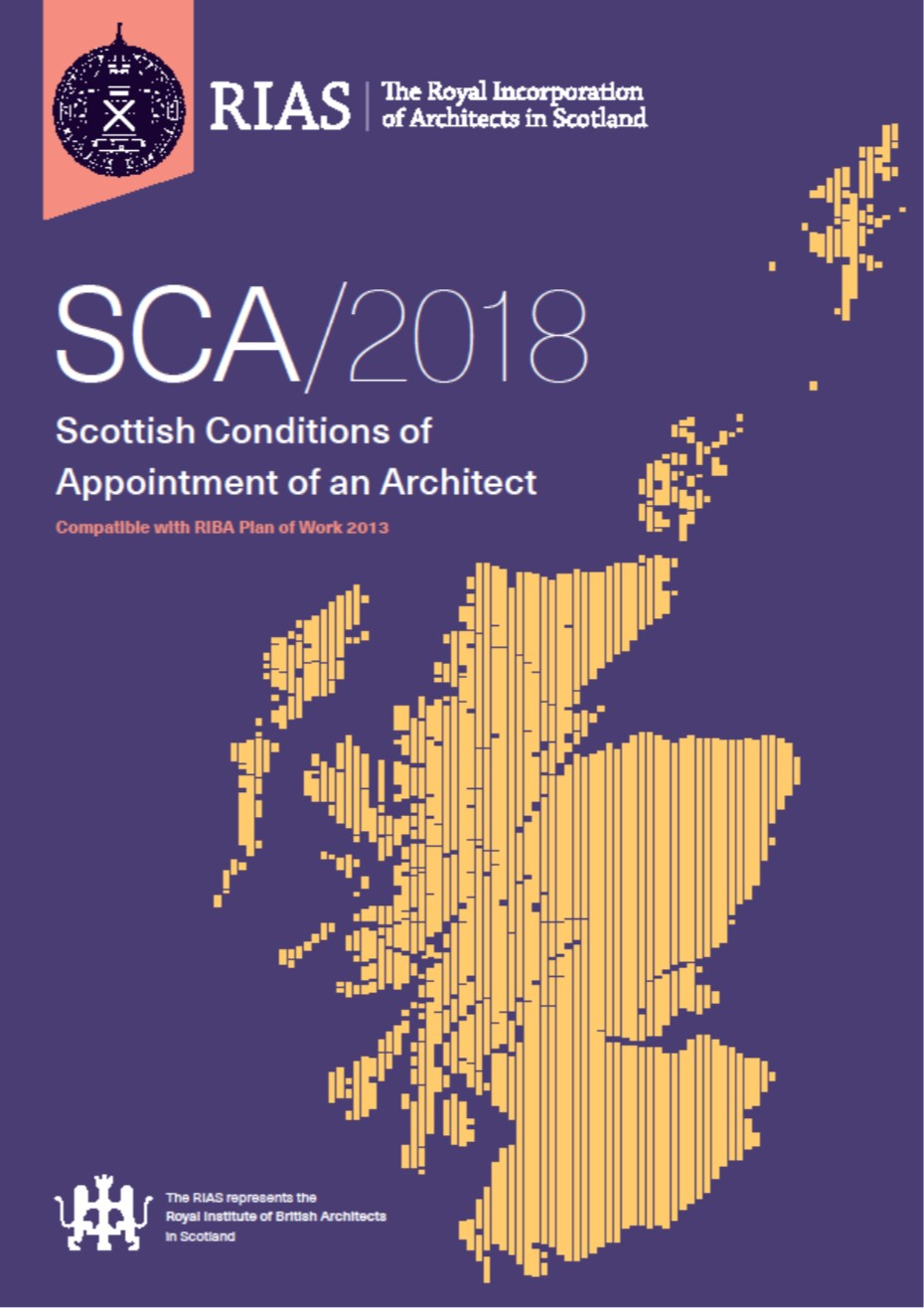 Scottish Conditions of Appointment of an Architect SCA/2018