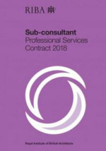 RIBA Sub-consultant Professional Services Contract 2018