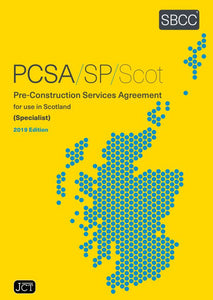 Pre-Construction Services Agreement (Specialist) 2019