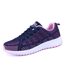 Load image into Gallery viewer, Running Shoes Sneakers Women Outdoor Sport Shoes Comfortable Mesh Walking Jogging Ladies Light Flats Shoes Plus Size