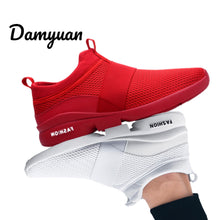 Load image into Gallery viewer, Damyuan 2019 New Fashion Men Women Flyweather Comfortable Breathable Non-leather Casual Light Size 46 Sport Mesh Jogging Shoes