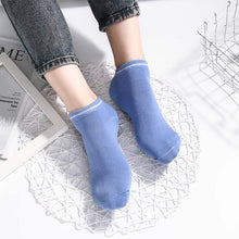 Load image into Gallery viewer, Hot Sale New 1pair Wear-resisting Backless Antibacterial Ankle Yoga Socks Cotton Anti-slip Ballet Pilates Dacing Barre Sock