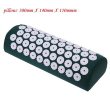 Load image into Gallery viewer, Massager Cushion Massage Yoga Mat Acupressure Relieve Stress Back Body Pain Spike Mat Acupuncture Massage Yoga Mat with Pillow