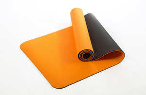 Non-slip Elastic Yoga Mat For Beginner