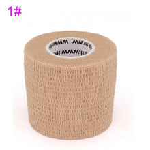 Load image into Gallery viewer, 4.5m Colorful Elastoplast Elastic Wrap Tape COYOCO 2.2 Times Elastic Sports Self Adhesive Bandage For Knee Finger Ankle Palm