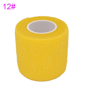 4.5m Colorful Elastoplast Elastic Wrap Tape COYOCO 2.2 Times Elastic Sports Self Adhesive Bandage For Knee Finger Ankle Palm
