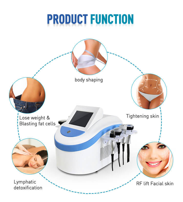 Lazzybeauty 7 in 1 80k cavitation machine functions