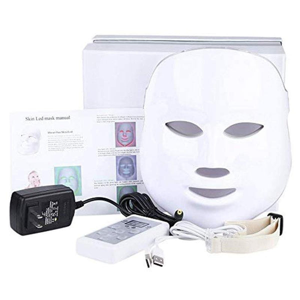 7 Color Therapy  LED Light Face Mask