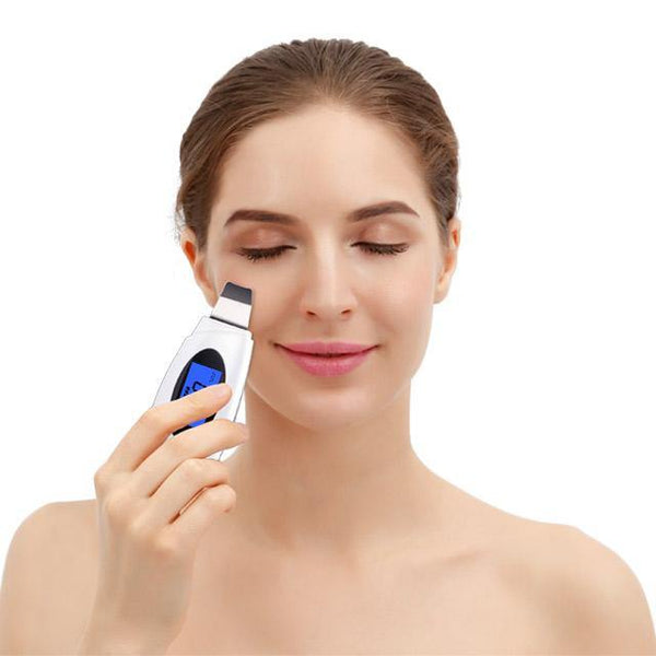 Ultrasonic Scrubber Deep Face Cleaning Skin Scrubber Blackhead Remover L3