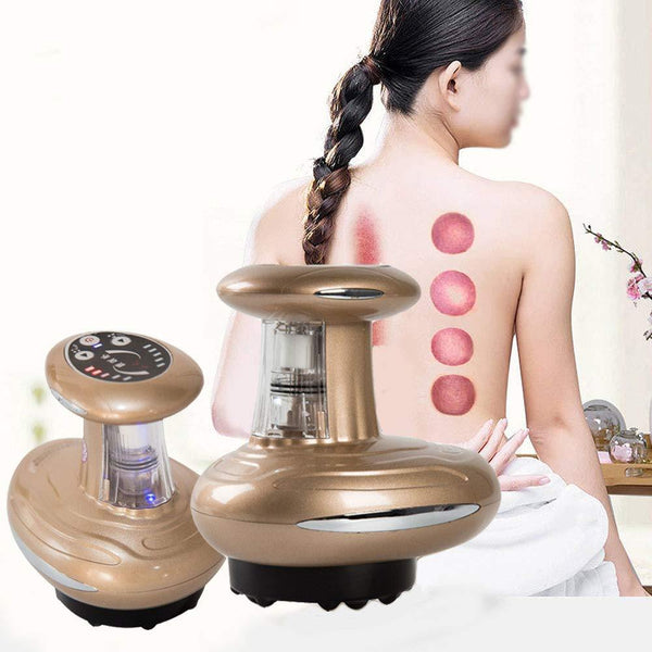 Vacuum Suction Detox Scraping Thermal Magnetic Wave Therapy Machine
