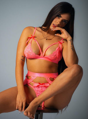 Seduction Set in Pink